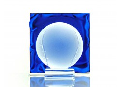 Baseballový míč www.sklenenevyrobky.cz