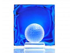 Golfový míček www.sklenenevyrobky.cz