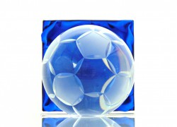 Fotbalový míč www.sklenenevyrobky.cz