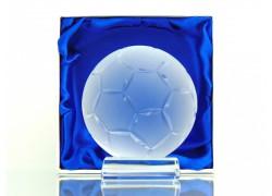 Futbalová lopta www.sklenenevyrobky.cz
