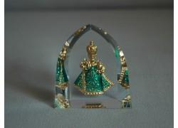 Pražské Jezulátko velké zelené 5,5x6 cm