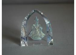 Pražské Jezulátko velké s kovovými odlesky AB 5,5x6 cm