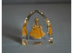 Pražské Jezulátko v žlutých šatech