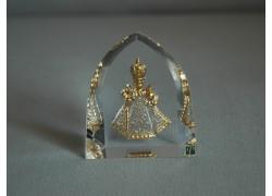 Pražské Jezulátko velké zlaté 5,5x6 cm