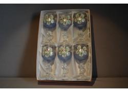 Claudia 50ml malovaná set 6 ks modrá