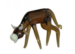 Cow from glass
