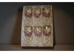 Claudia 50ml malovaná set 6 ks růžová