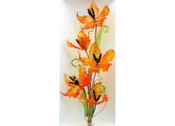 Glass flowers www.sklenenevyrobky.cz