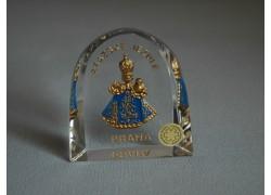 Pražské Jezulátko velké Praha modré 6x6,5 cm