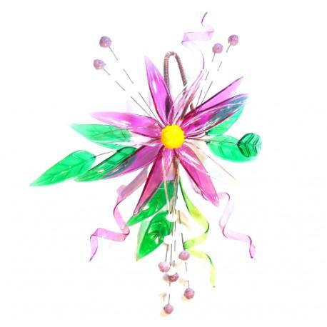 Glass flowers for hanging www.sklenenevyrobky.cz
