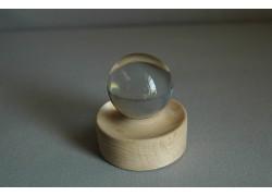 Fortune telling clear sphere 40mm www.sklenenevyrobky.cz