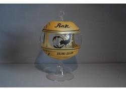 Koule na svíčku ZODIAC 12cm +stojan RAK