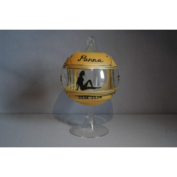 Koule na svíčku ZODIAC 12cm +stojan PANNA