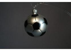 Vánoční ozdoba fotbalový míč 6cm