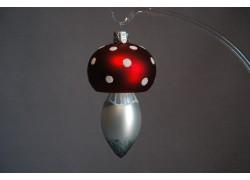 Vianočná ozdoba muchotrávka veľká