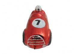 Vánoční ozdoba auto veterán F501 červené