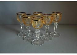 Glasses of Mariana on aperitif - 6pcs, yellow www.sklenenevyrobky.cz