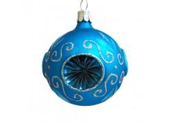 Christmas balls 60mm blue 2049, decor frost