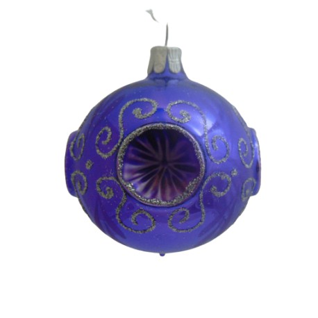 Christmas ball 6 cm www.sklenenevyrobky.cz
