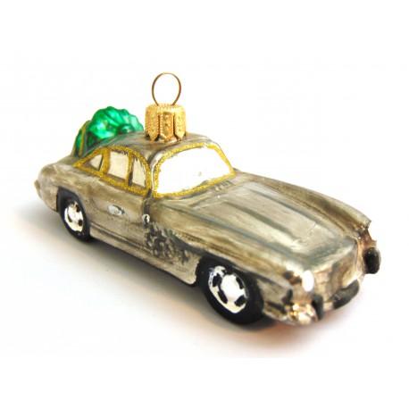 Vánoční ozdoba Auto 524 www.sklenenevyrobky.cz