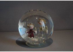 Sněžící koule , sněžítko , Andělé 10cm