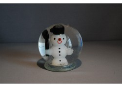 Sněhulák ve sněžící kouli 80mm
