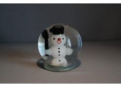 Sněžící koule a Sněhulák s hokejkou