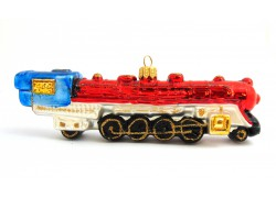 Christmas decoration, Western Express locomotive red