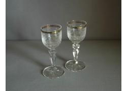 Glasses of Mariana on aperitif - 2pcs, clear glass www.sklenenevyrobky.cz
