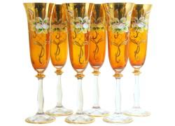 Poháre Angela 190ml 6ks smalt šampanské poháre