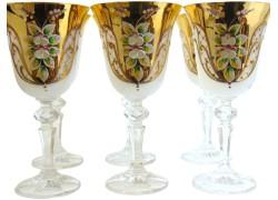 Poháre Christine 170ml 6ks smalt poháre na víno