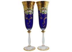 Poháre Angela 190ml 2ks smalt šampanské poháre
