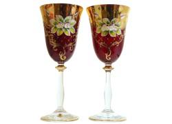 Poháre Angela 250ml 2ks smalt poháre na víno