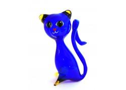 Kočka z foukaného skla