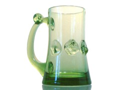 Lesní sklo - Půllitr na pivo C39 500ml /140mm