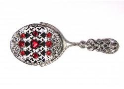 Jewelery mirror www.sklenenevyrobky.cz