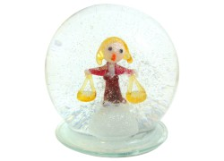Sněhová koule 60mm Zodiak Váhy