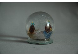 Sněžící koule s Papoušky 60 mm