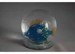 Sněžící koule Ryba 60 mm