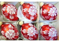 Velikonoční vajíčko 5008 6ks www.sklenenevyrobky.cz