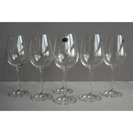 Sklenice na červené víno Viola 350 ml set 6 ks