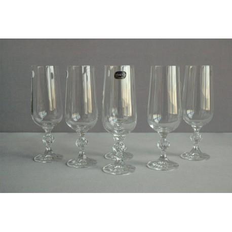 Sklenice na šampaňské víno Claudia 180 ml set 6 ks