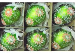 Easter egg from glass 6pcs. www.sklenenevyrobky.cz