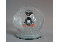 Sněžící gule s tučniakom
