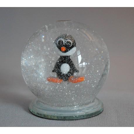 Sněžící koule Tučňák 60 mm