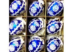 Easter glass eggs 9pcs. www.sklenenevyrobky.cz