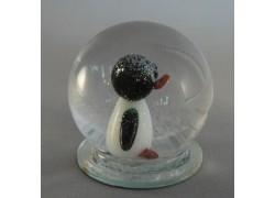 Sněžící koule Tučňák 65 mm