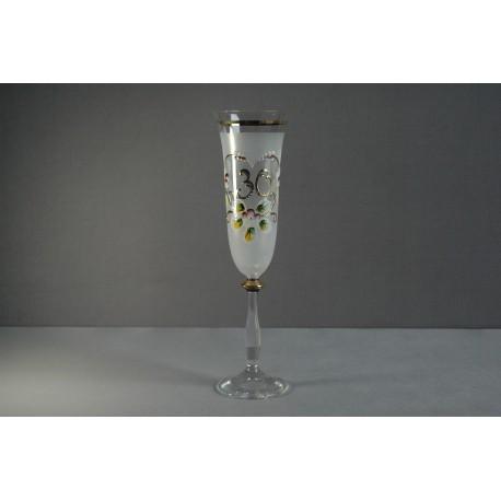 Výroční sklenička Angela - flétna 30 (190ml)