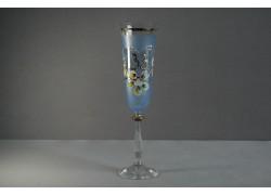 Výroční sklenička Angela - flétna 33 (190ml modrá)