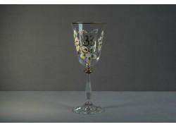 Výroční sklenička na víno Angela 33 let (250 ml čirá) www.sklenenevyrobky.cz